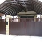 Фото распашные ворота (2)